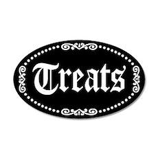 Halloween Treats 35x21 Oval Wall Decal