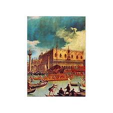 Canaletto: Bucentaurs Return 5'x7'Area Rug