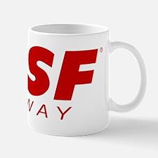 SPSF Railway Logo Red Mug