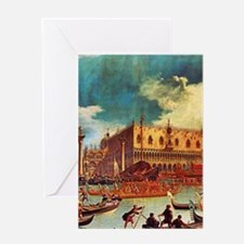 Canaletto: Bucentaurs Return Greeting Card