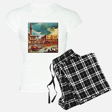 Canaletto: Bucentaurs Retur Pajamas