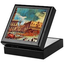 Canaletto: Bucentaurs Return Keepsake Box