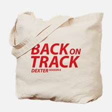 Back On Track Dexter Season 8 Tote Bag