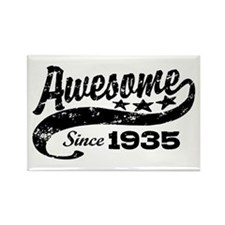 Awesome Since 1935 Rectangle Magnet