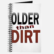 Older Than Dirt Journal