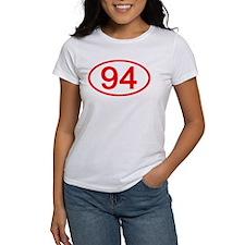 Number 94 Oval Tee