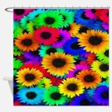 Glorious Sunflowers Shower Curtain