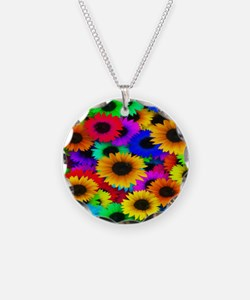 Glorious Sunflowers Necklace