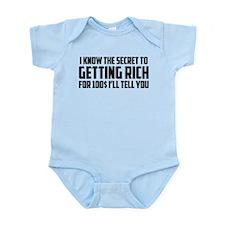 Secret To Getting Rich Infant Bodysuit