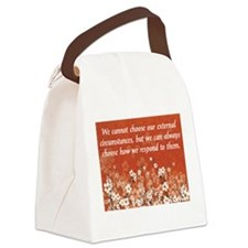 Circumstances Canvas Lunch Bag