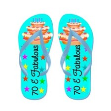 ADORABLE 70TH Flip Flops