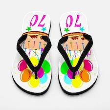 70 AND FUN Flip Flops