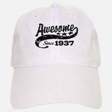 Awesome Since 1937 Baseball Baseball Cap