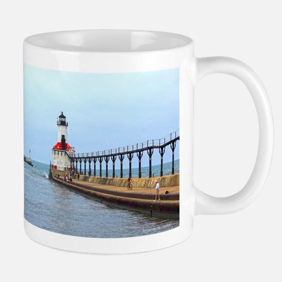 Michigan City Lighthouse Mug