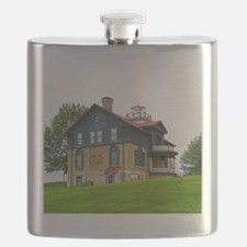 Old Michigan City Lighthouse Flask