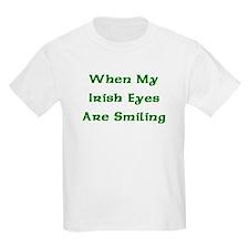 My Irish Eyes Kids T-Shirt