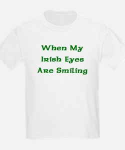 My Irish Eyes Kids T-Shirt