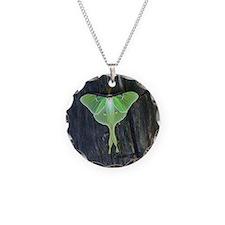 Luna Moth Necklace