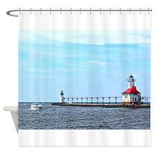 St. Joseph/Benton Harbor Lights Shower Curtain