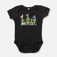 Adopt Shelter Dogs DK Baby Bodysuit