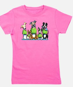Adopt Shelter Dogs DK Girl's Tee