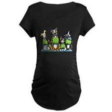 Adopt Shelter Dogs DK Maternity T-Shirt