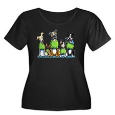 Adopt Shelter Dogs DK Plus Size T-Shirt