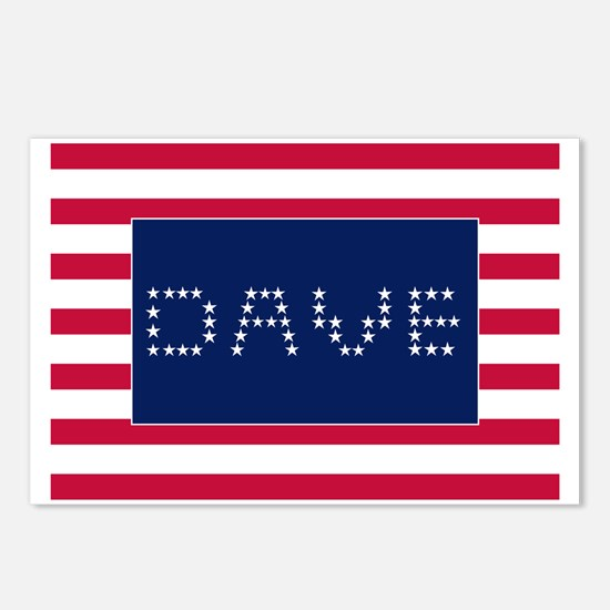 DAVE Postcards (Package of 8)