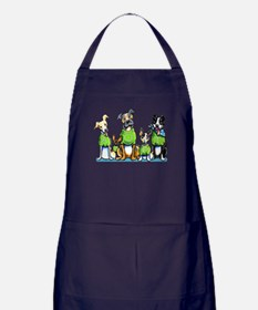 Adopt Shelter Dogs Apron (dark)