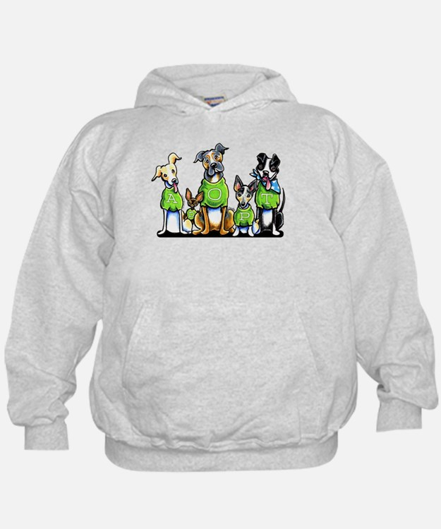 Adopt Shelter Dogs Hoodie