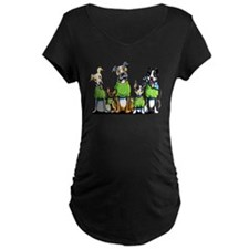 Adopt Shelter Dogs Maternity T-Shirt