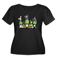 Adopt Shelter Dogs Plus Size T-Shirt