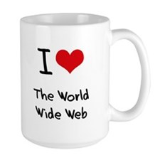 I love The World Wide Web Mug