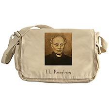 J.L. Runeberg w text Messenger Bag