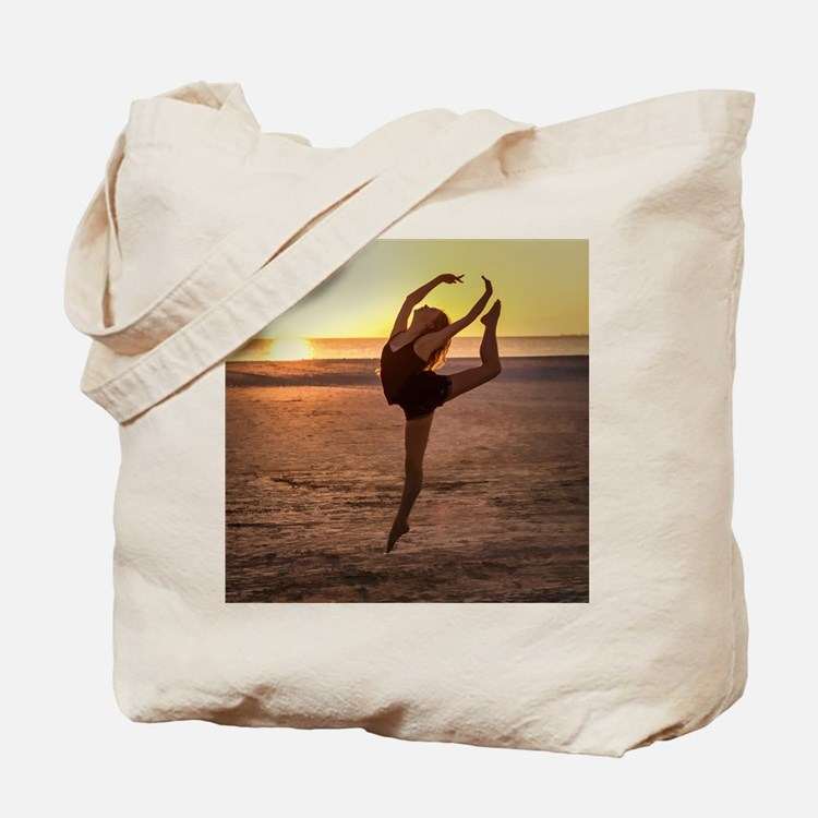 Ballet on the Beach Tote Bag