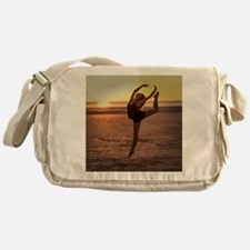 Ballet on the Beach Messenger Bag