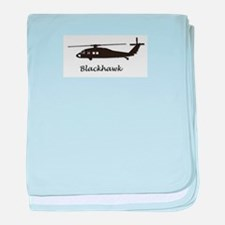 UH-60 Blackhawk baby blanket