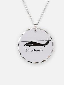 Uh-60 Blackhawk Necklace