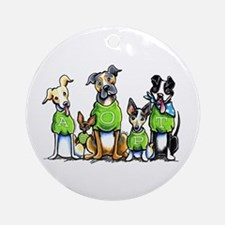 Adopt Shelter Dogs Ornament (Round)