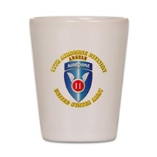 Army - 11th Airborne Division Shot Glass
