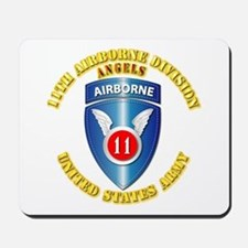 Army - 11th Airborne Division Mousepad