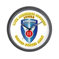 Army - 11th Airborne Division Wall Clock