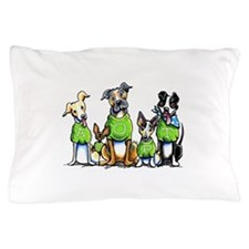 Adopt Shelter Dogs Pillow Case
