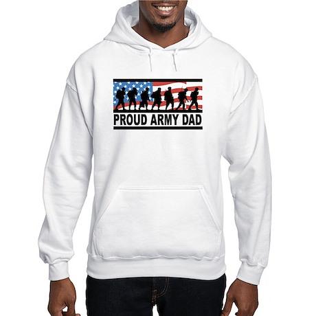 Proud Army Dad Hooded Sweatshirt