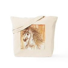 Desert Arabian Horse LRG Tote Bag