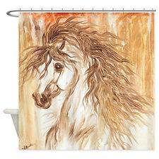 Desert Arabian Horse LRG Shower Curtain
