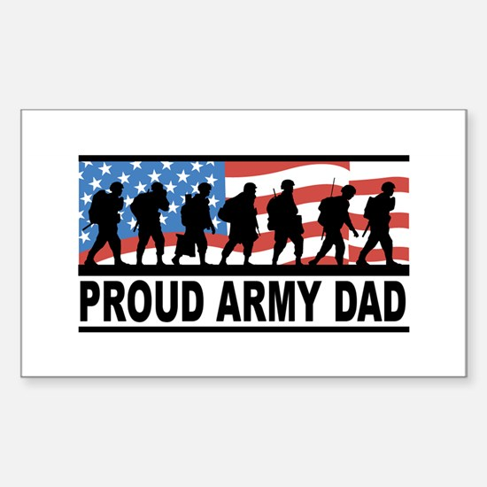 Proud Army Dad Vinyl Decal
