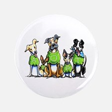 "Adopt Shelter Dogs 3.5"" Button"
