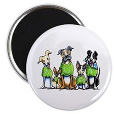 Adopt Shelter Dogs Magnet