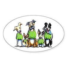 Adopt Shelter Dogs Decal